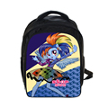 Anime My little Pony Backpack Princess Celestia / Twilight Sparkle Children School Bags Girls School Backpacks For Teenagers Bag