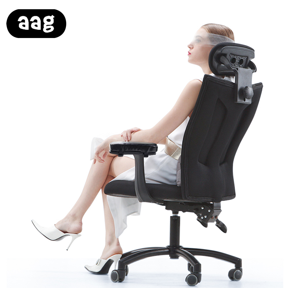 AAG chair Armrest Pads Memory Foam Elbow Pillow Support arm rest covers PU leather Armrest pads Elbow Relief-in Furniture Accessories from Furniture on ...  sc 1 st  AliExpress.com & AAG chair Armrest Pads Memory Foam Elbow Pillow Support arm rest ...
