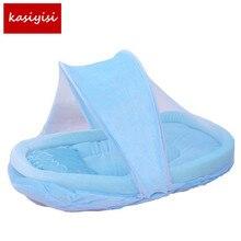 1 set Baby Folded Nets Cotton Pad Pillow High - End Children 's Nets b1TRQ1222