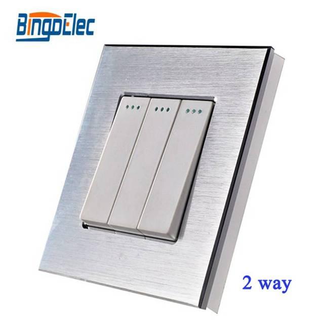 Hot Sale Home Improvement EU CE Certification 3gang 2way Wall Switch ...