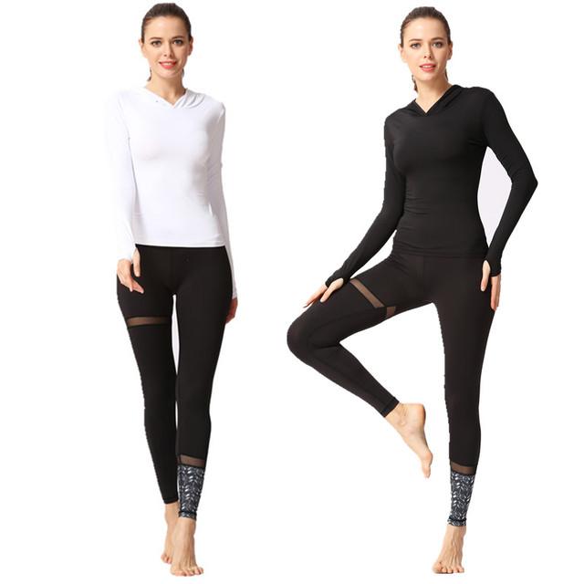 Yoga Long Sleeve Jumpsuit Set