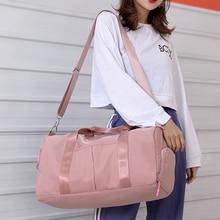 2019 Travel Bags WaterProof Large Capacity Hand Luggage Fashion Women Weekend Duffle Bag Handbags Training Sport