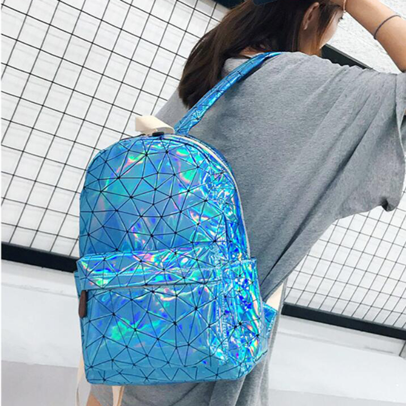 HTB1y6E9XoLrK1Rjy1zbq6AenFXaQ Large Travel Bags Laser Backpack Women Men Girls Bag PU Leather Holographic Backpack School Bags for Teenage Girls fashion bag