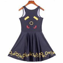 New Arrival Women's Pokemon Umbreon Party Mini Dress