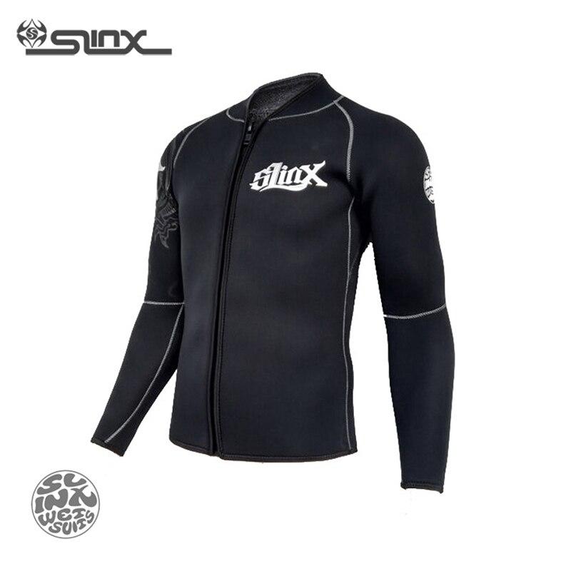 Slinx RivaRanger 1109 5mm néoprène polaire doublure veste chaude combinaison cerf-volant surf planche à voile maillots de bain nautisme plongée sous-marine - 3