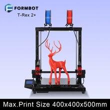 Formbot 3D Printer T-Rex 2+ Twin Extruder Excessive Decision Huge Impressora 3D with Free Filament