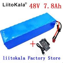 Аккумулятор LiitoKala для электромобиля, 48 В, 7,8 Ач, 13s3p, высокой мощности, 18650, DIY, с защитой BMS + 2A зарядным устройством