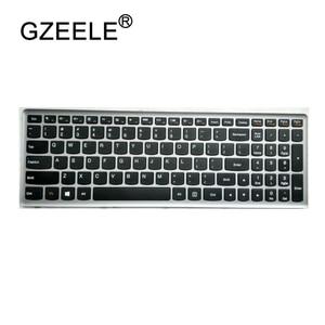 Image 2 - GZEELE NEW US Keyboard For Lenovo Ideapad Z500 Z500A Z500G P500 P500A Laptop US English laptop keyboard silver Without Backlit