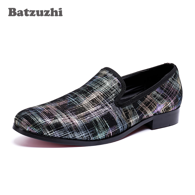2018 New Italian Leather Men Casual Shoes Fashion Comfortable Breathable Men Shoes Flats Loafers for Business Men Handmade, US12 zplover fashion men shoes casual spring autumn men driving shoes loafers leather boat shoes men breathable casual flats loafers