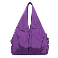 Women Nylon Gym Bags Casual Sports And Fitness Handbag New Female Outdoor Shopping Bag Yoga Training