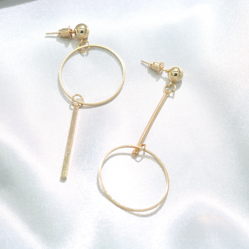 European and American fashion jewelry wholesale fashion exaggerated geometric big circle female earrings earrings