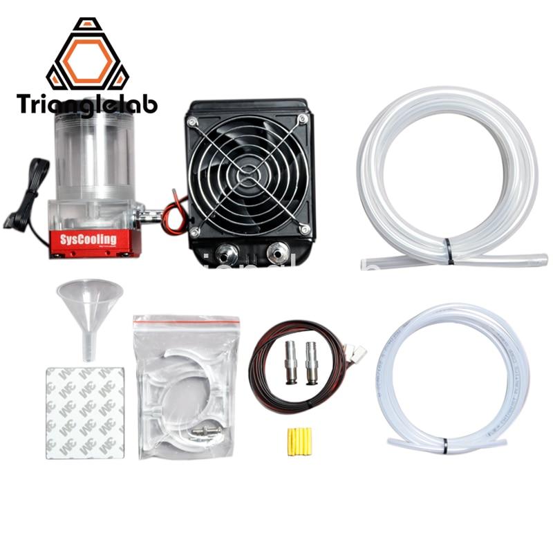 Trianglelab Titan AQUA комплект водяного охлаждения для DIY 3D принтер для E3D Hotend Titan экструдер для TEVO 3D принтер Upgrade Kit