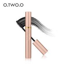 Тушь для ресниц водонепроницаемая черная 3D завивка Удлиняющая ресницы естественное удлинение густые ресницы макияж для глаз O. Two. O