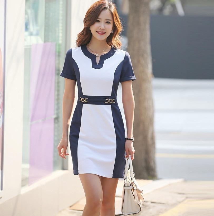 Brand New 2015 Formal Summer Women Dress Office Ladies ...