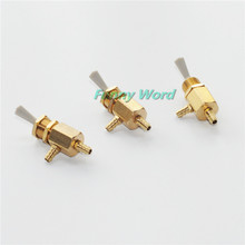New Dental Valve On Off Switch Toggle 3pcs for Chair Unit Water Bottle Parts Connect 6*4 mm Hose