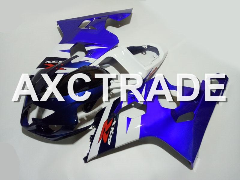 Впрыска Molidng ABS пластик мотоцикл Кузов обтекатель комплект для Suzuki GSXR600 GSXR750 2004 GSX R 2005 750 600 GSXR K4 K430