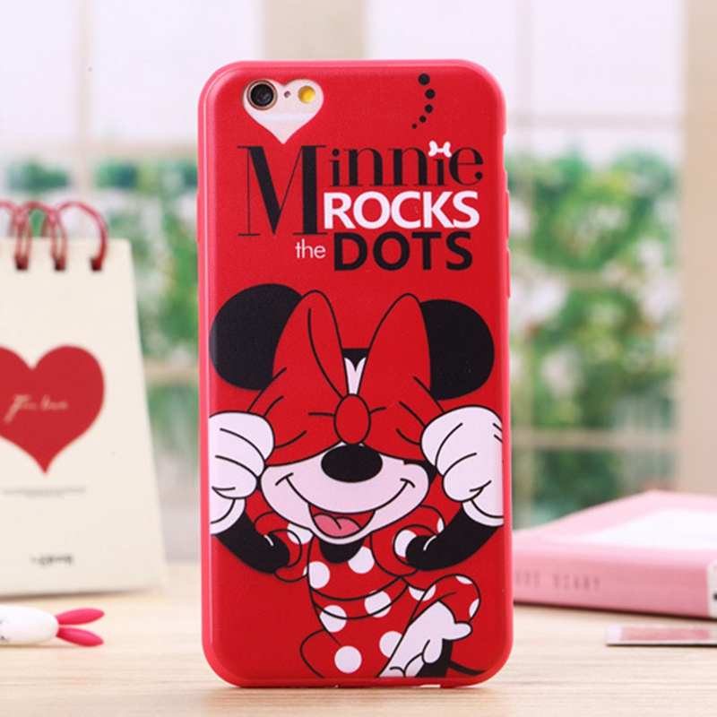 new products e813a 0f63b Soft Silicone Case for Iphone 5 5s SE Cute Cartoon Minnie Mickey Mouse  Donald Phone Cover for Iphone 5s Cases
