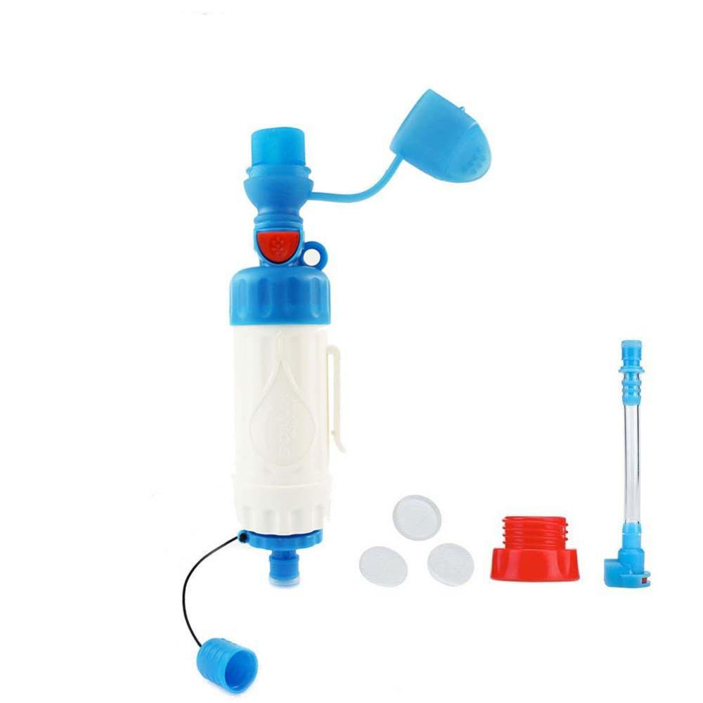Outdoor individual multifunctional water purifiers single-soldier earthquake emergency equipment portable direct