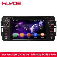 KLYDE Octa Core 4 ГБ Оперативная память Android 8 dvd плеер автомобиля для Dodge Dura Dakota Калибр путешествие Avenger Durango Challenger оперативная память 1500 2500