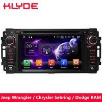 KLYDE Octa Core 4GB RAM Android 8 Car DVD Player For Dodge Dura Dakota Caliber Journey Avenger Durango Challenger RAM 1500 2500