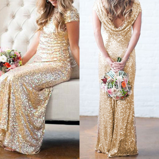 Alibaba Express Dresses Gold