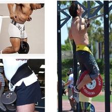 Спортивный пояс для тяжелой атлетики с железной цепью для тренажерного зала, фитнеса, спины, поддержки талии, защиты от травм, силовых тренировочных ремней ZJ55