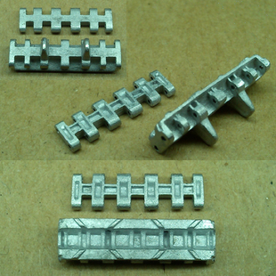 Allemand sWS1: 35 modèle d'assemblage de chenilles en métal modèle de réservoir