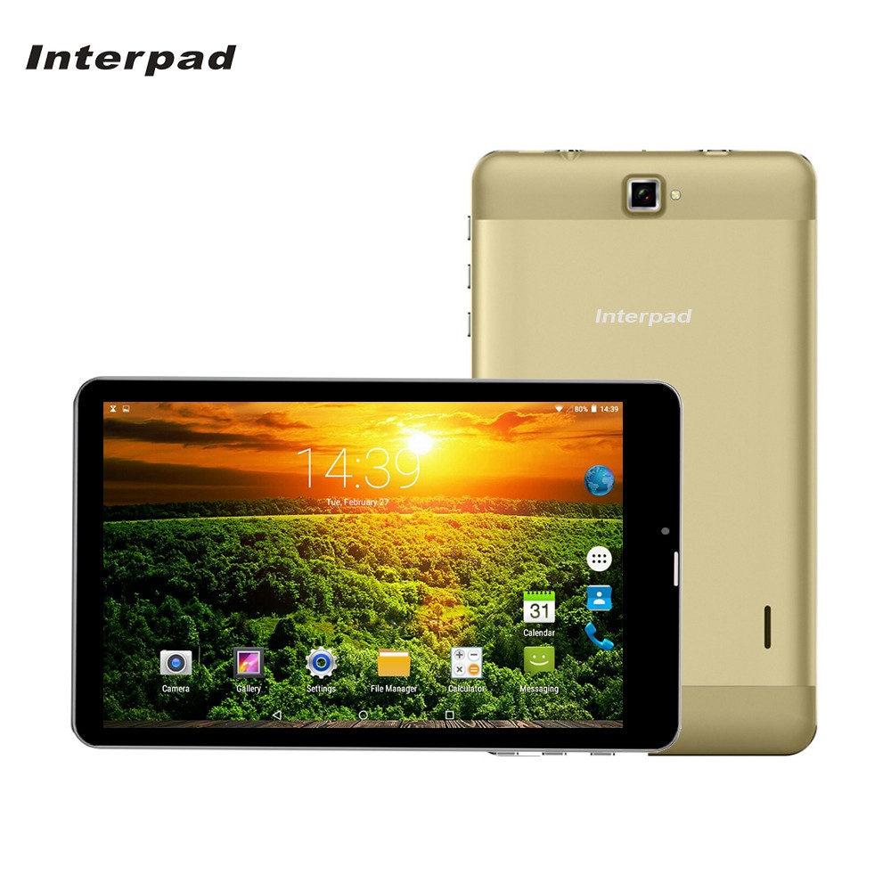 Interpad 7 дюймов Android Планшеты MTK6582 1,5 ГГц ips 2.5D изогнутый экран 1280*800 WiFi gps USB SIM телефон 3G вызова планшетный ПК 8 9 10