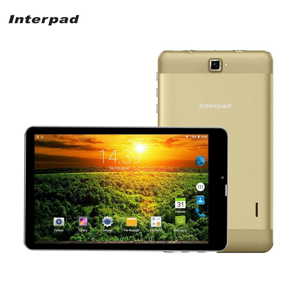 Interpad 7 pouce Android Comprimés MTK6582 1.5 GHz IPS écran 2.5D courbe 1280*800 WiFi GPS USB SIM 3G appel téléphonique tablet pc 8 9 10