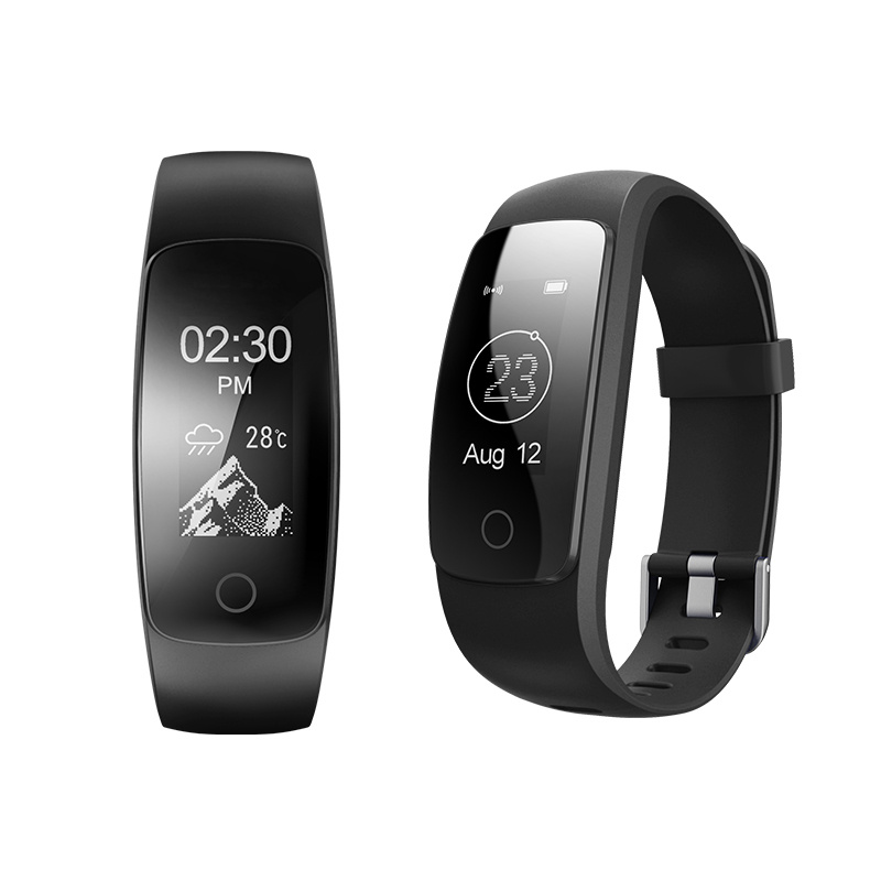 Yulubu ID107 Plus HR Smart Band Bluetooth 4.0 Answer Call Smart Bracelet Heart Rate Sleep Monitor multi sports for Android IOS image