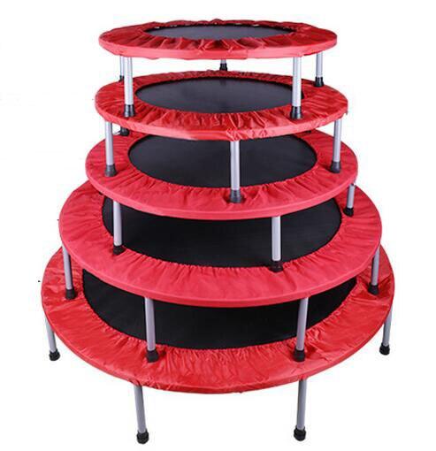 36 40 48 54 inch folding trampoline children spring jumping bed indoor baby bounce bed. Black Bedroom Furniture Sets. Home Design Ideas