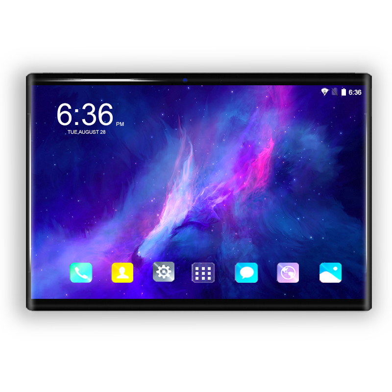 Original 10.1 Inch Tablet PC Android 8.0 Octa Core 6GB+64GB 3G/4G LTE Dual SIM Card 1280*800 IPS Curved Screen WIFI Tablets 10