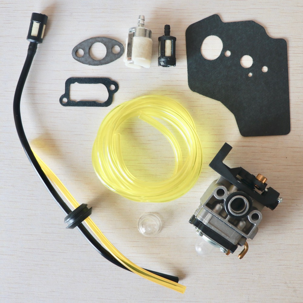 Carburetor Gasket Fuel Line Filter Kit For HONDA GX35 HHT35 HHT35S 4-Stroke Mini Small Engine Motor Trimmer Brushcutter Mower
