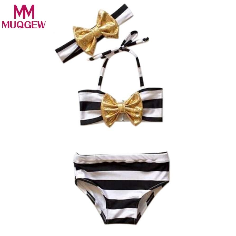 Swimwear kids girl skirt 2018 children swimwear swimsuit baby kids swimsuit girl beach swimsuit infantiles costumes 3pcs