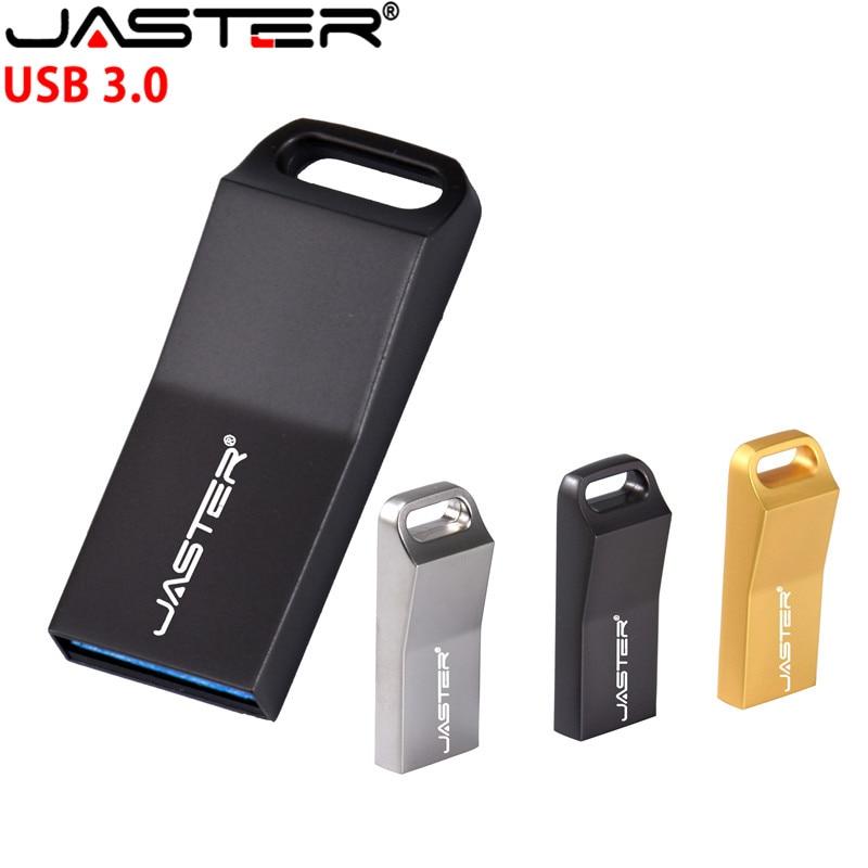 JASTER USB 3,0 Металлический Флешка usb 4 ГБ 16 ГБ 32 ГБ 64 Гб Флешка флеш диск USB Бесплатная доставка (более 10 шт. бесплатный логотип) USB флэш-накопители      АлиЭкспресс