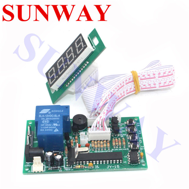 US $13 0 |JY 15B Time Controlling Timer Board Power Supply for coin  acceptor selector water pump washing machines massage chairs chargers-in