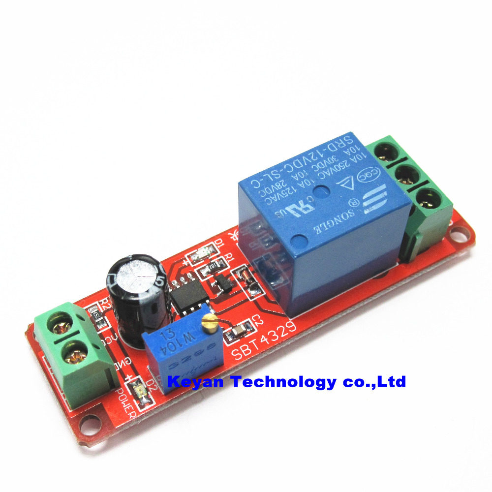 12v Delay Timer Monostable Switch Relay Module Ne555 Car Oscillator 555 Circuit Electrical Engineering Electronics In Integrated Circuits From Electronic Components Supplies On Alibaba