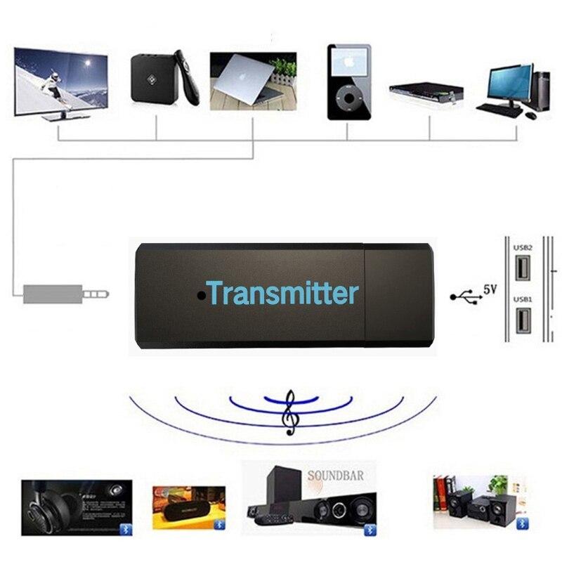 2017 USB Bluetooth 3.0 Sans Fil Stéréo Audio Musique Émetteur Pour TV MP3 PC Portable