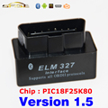 V1.5 Super Bluetooth MINI ELM327 Black OBD2 / OBDII ELM 327 Version 1.5 Car Code Scanner
