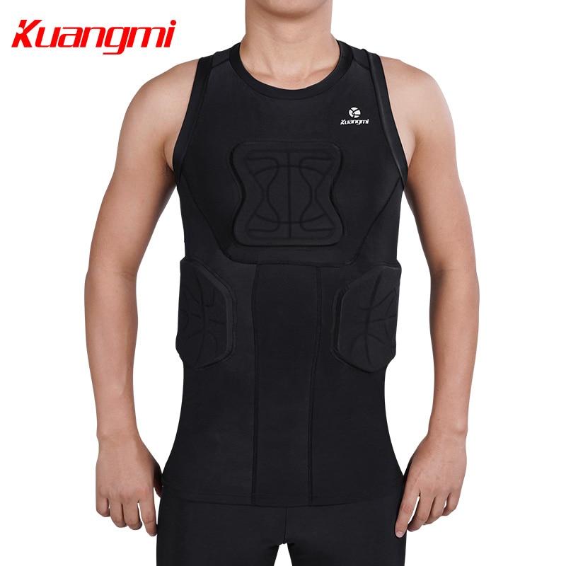 Kuangmi Uomini Palestra Abbigliamento Sportivo di Fitness di Compressione di Calzamaglie Abiti Corsa e Jogging Sport Da Jogging T Shirt e Pantaloni Set Vestiti