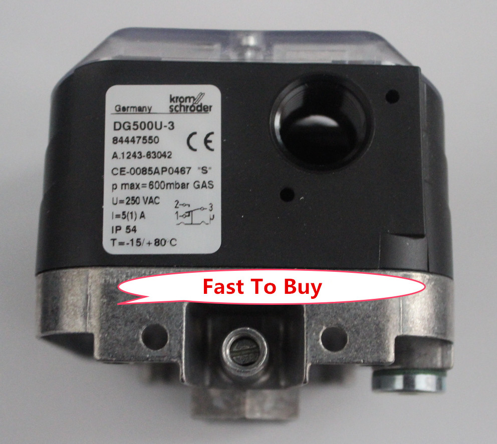 New Arrival Original Pressure Switch for Gas DG500U-3 For Burner New new original pressure switch dg10u 3