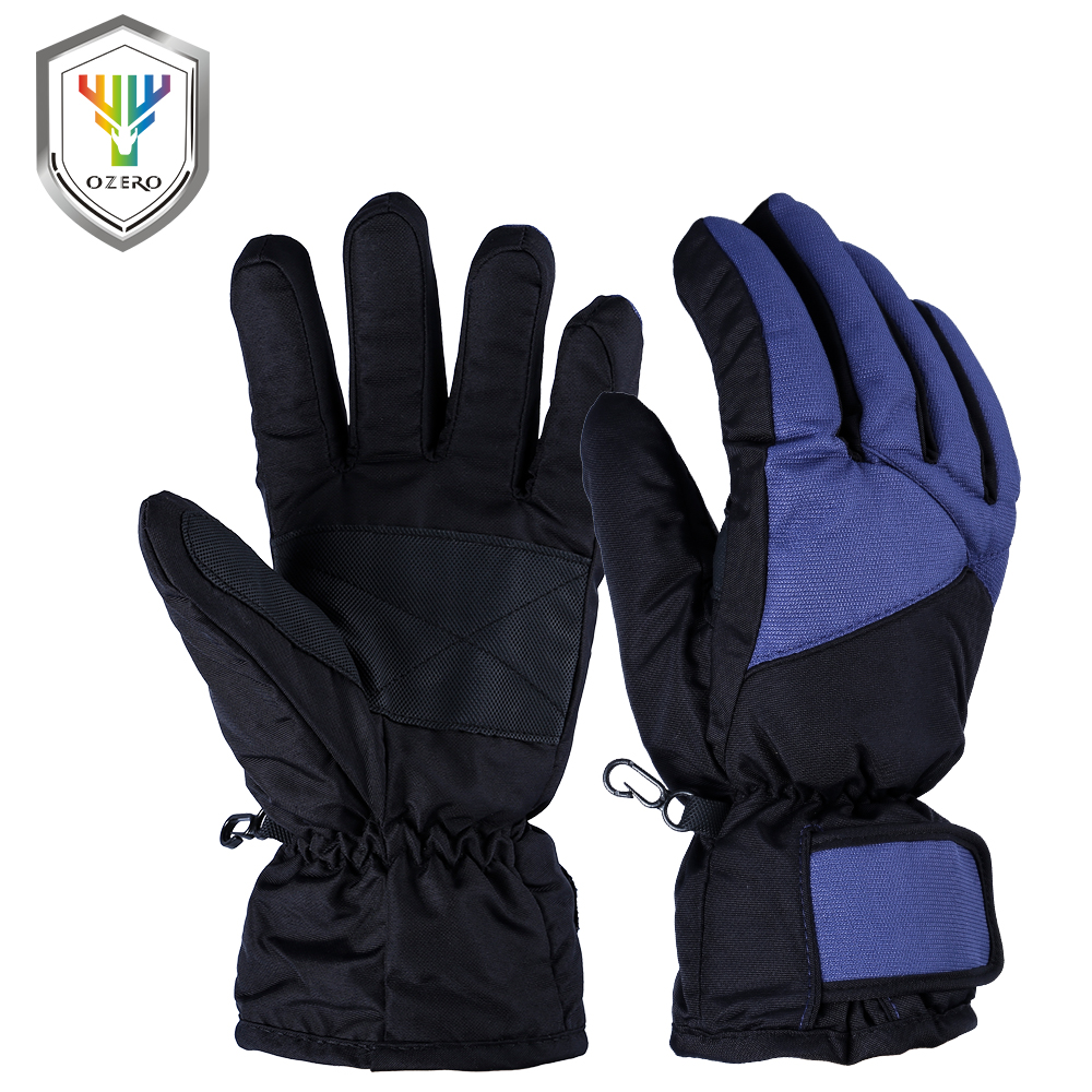OZERO Winter Warm Cotton Gloves Men's Work Driver Windproof  Protection Wear Safety For Men Woman Gloves 9001 ozero deerskin winter warm gloves men s work driver windproof security protection wear safety working for men woman gloves 9009