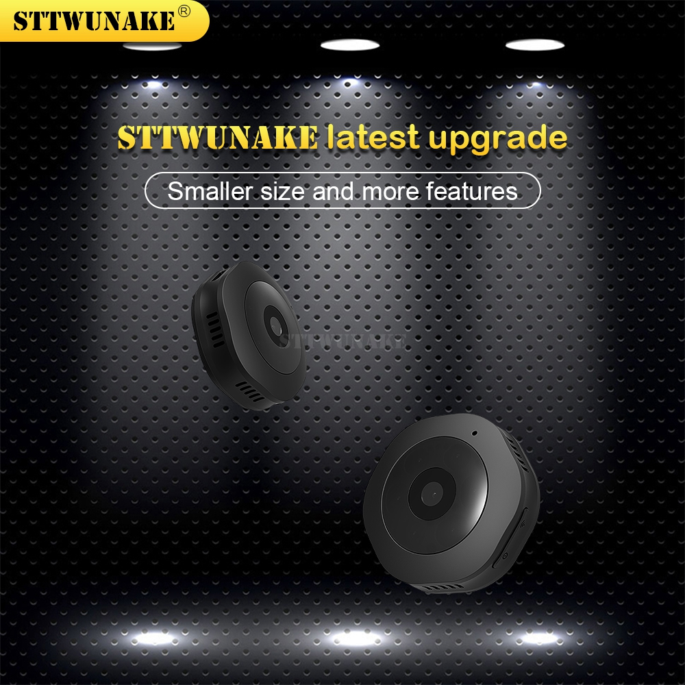 STTWUNAKE mini IP camera 1080P HD wifi micro cam Wireless home Small hidden Video recorder outdoor ipcam security Baby Monitor