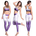 NEW FASHION 3D printed women leggings slim push up Legentsy workout waist sexy purple Pants Fitness Leggings WH1078
