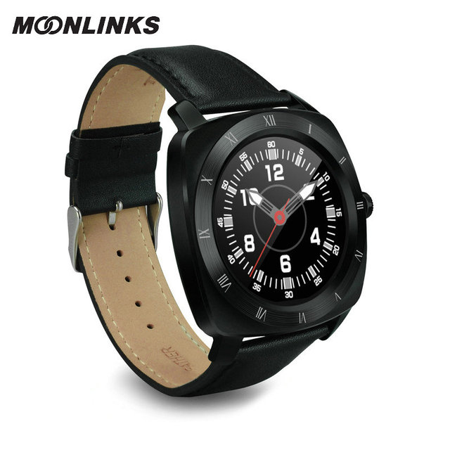 Moonlinks DM88 tecnologia inteligente smart watches android watch genuine leather smart watch women smartwatch orologio donna