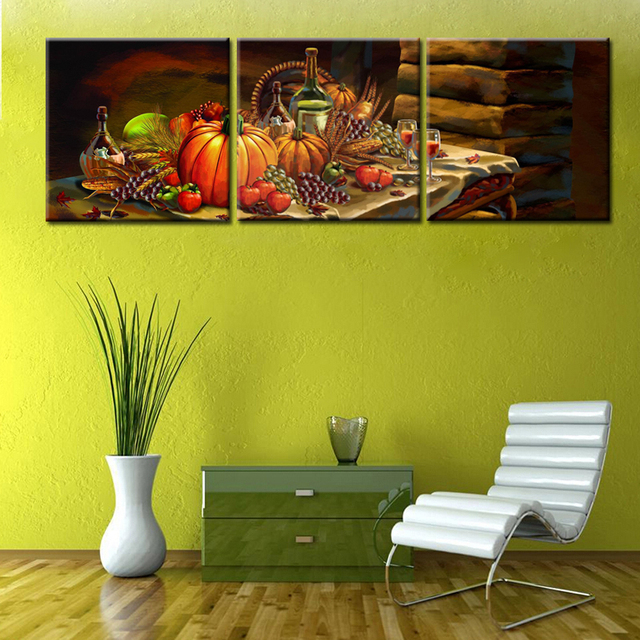 Still Life Fruit on the Table Classical Canvas Art Still Life ...