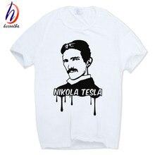 Great Nikola Tesla geek t-shirts (several designs)