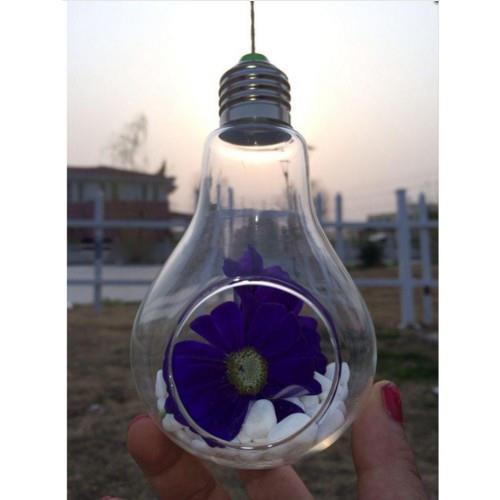 24 стиля стеклянная подвесная Ваза Бутылка Террариум гидропонный горшок Декор цветочные растения контейнер орнамент микро пейзаж DIY домашний декор - Цвет: 8x13.5CM