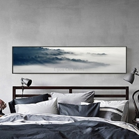 No Frame Landscape Poster Nordic Art Print Scandinavian Canvas Painting Wall Picture For Bedroom Modern Oil