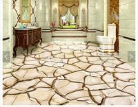 Custom 3d Photo Wallpaper 3d Flooring Painting Wallpaper The Dry 3D Floor Tiles Painting Background Wall